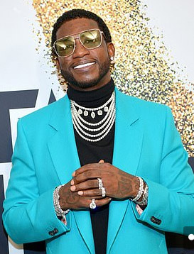 Gucci Mane in Pearls at BET Awards